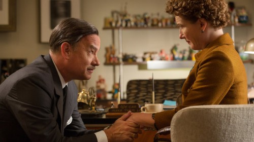 Chronicling the behind-the-scenes drama of the Mary Poppins film, Saving Mr. Banks stars Tom Hanks and Emma Thompson as Walt Disney and author P.L. Travers