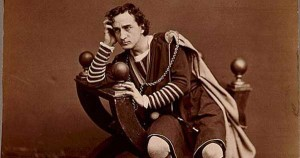 Actor Edwin Booth as Hamlet, c. 1870 (Library of Congress photo)