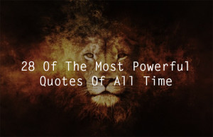 28 Awesome Quotations