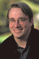 Linus Torvalds -  Copyright 1999 Gary Wagner. Credit required for editorial use.  Usage license expires 11/19/2001 - this image is not to be used after that date without paying additional license fees to Gary Wagner prior to said use on terms  ... <a href=